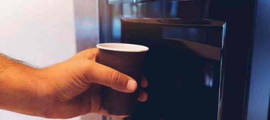 machine à café en entreprise